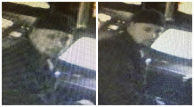Surveillance photo of armed robbery suspect