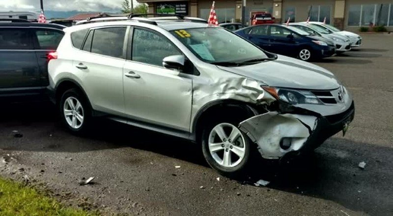 Someone Crashed Into My Parked Car
