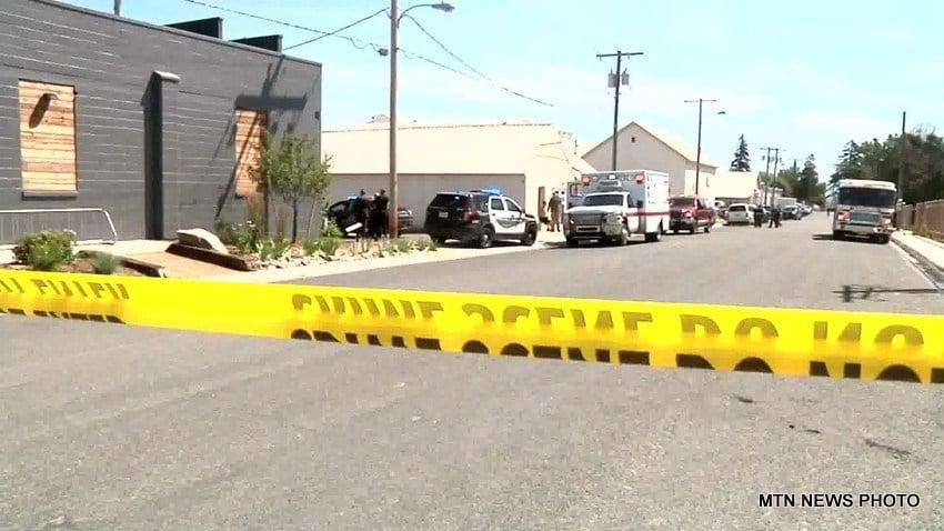 Crime scene in Helena