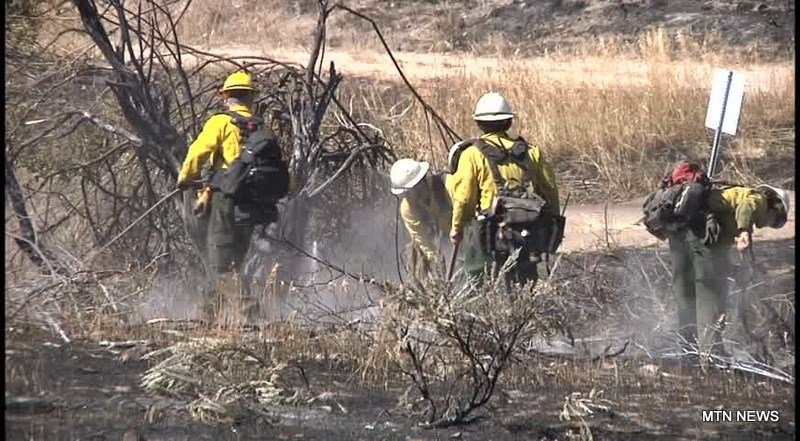 Crews still fighting the Rattlesnake Fire