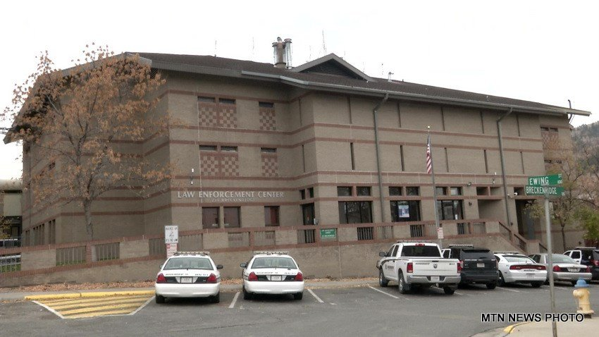 The Lewis & Clark County Detention Center takes up one floor of the Law Enforcement Center in downtown Helena.
