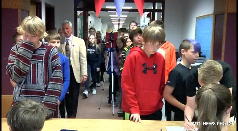 118 schools and 17,000 Montana students participated in a Mock Election on Thursday.