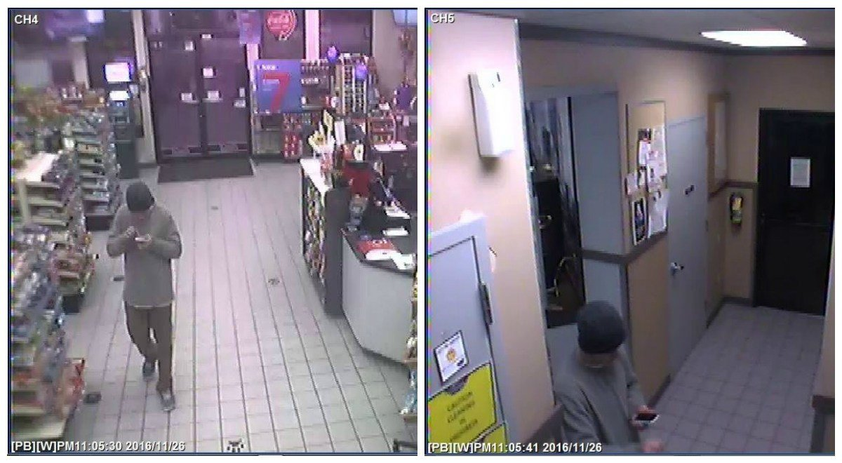 Surveillance photos released of Four Corners armed robbery suspect