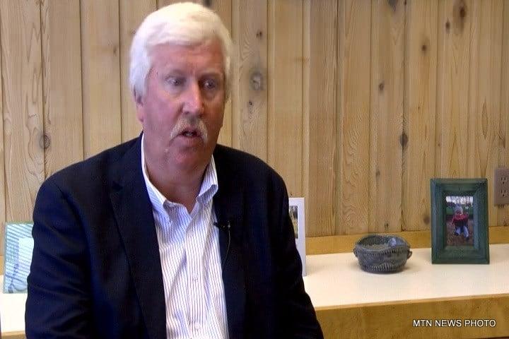 NorthWestern's Community Relations Manager Howard Skjervem