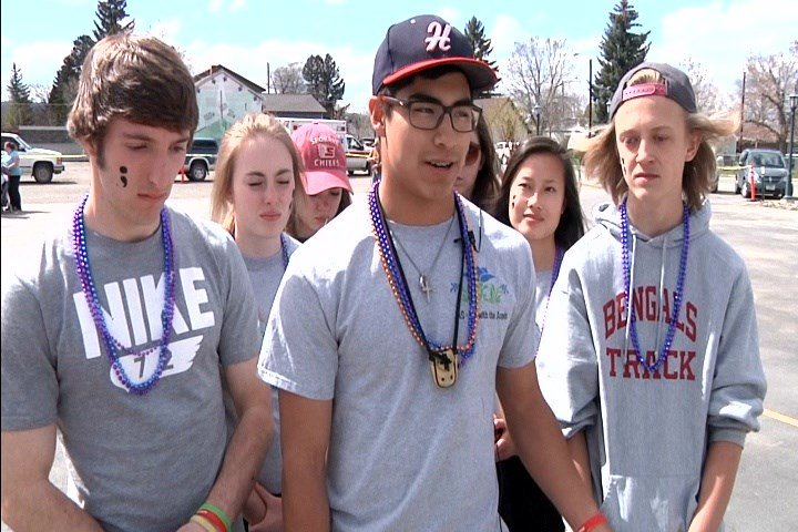 """The American Foundation For Suicide Prevention (AFSP) hosted an """"Out Of The Darkness"""" walkin East Helena on Saturday."""