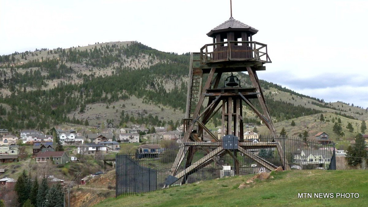 Helena's Fire Tower as it stands now is the third of the fire towers to grace thehill.