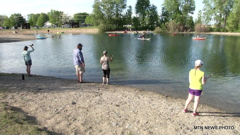 The Montana Department of Fish, Wildlife, and Parks helped some aspiring anglers learn the first steps to fly fishing in Helena on Tuesday.