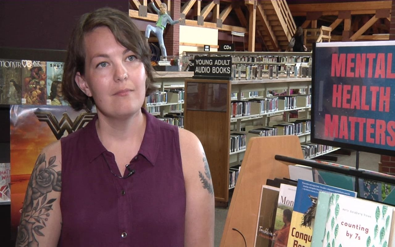 eather Dickenson, Teen Services Librarian at the Lewis & Clark Library.