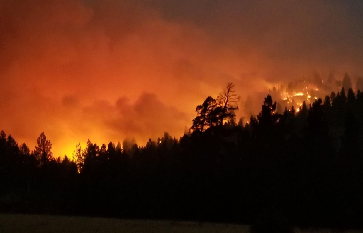 Alice Creek Fire (Photo from Inciweb)