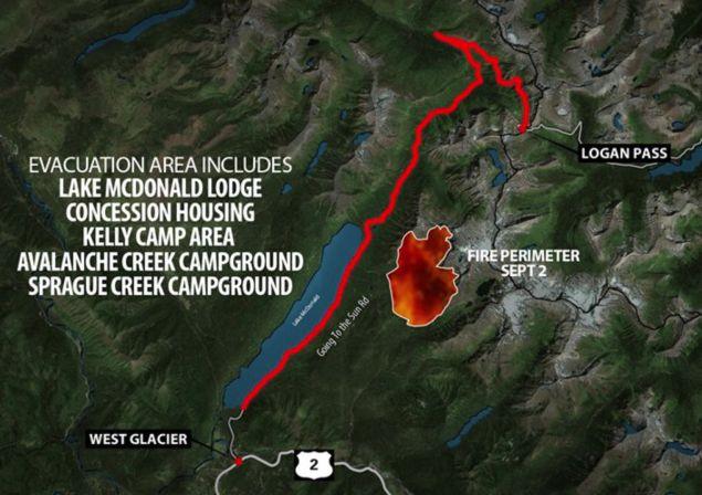 Sprague Fire Map