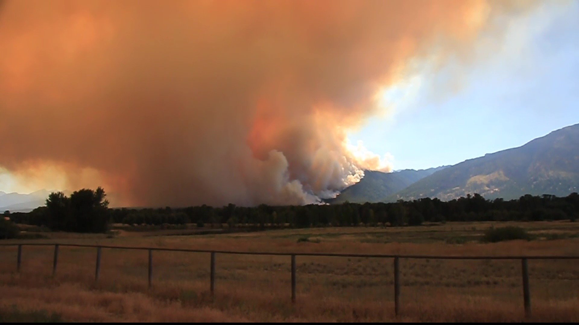 The Roaring Lion Fire burned more than 8,000 acres near Hamilton last year