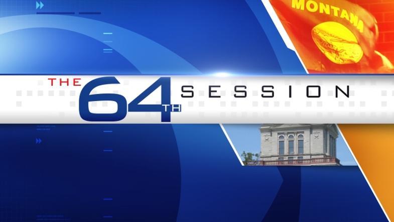 64th Legislative Session Graphic