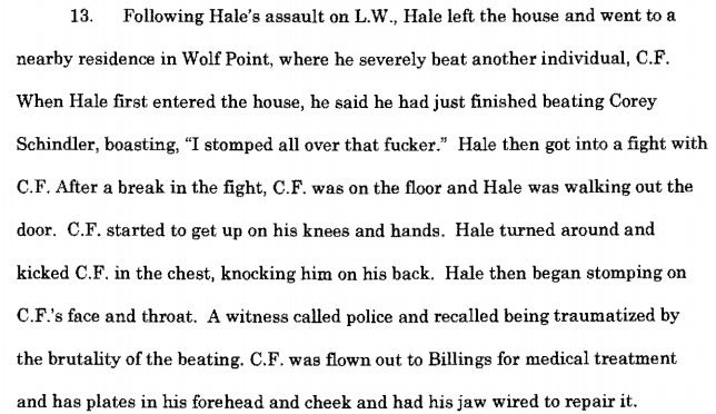 Hale Court Documents continued