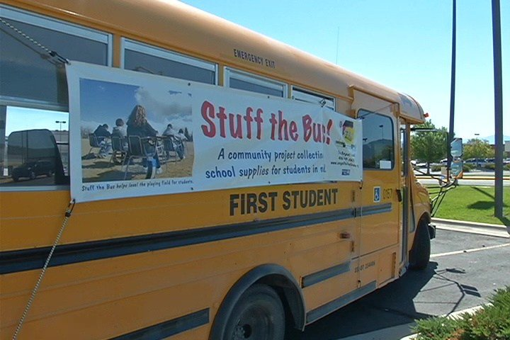 ... Stuff the Bus underway in Helena - KRTV.com | Great Falls, Montana