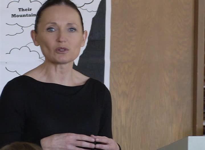 Lt Gov Angela McLean