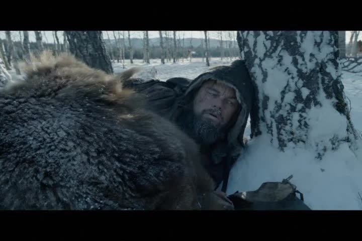 The movie, directed by Alejandro Iñárritu, was inspired by the experiences of fur trapper Hugh Glass; Glass is portrayed by Leonardo Dicaprio in the movie.