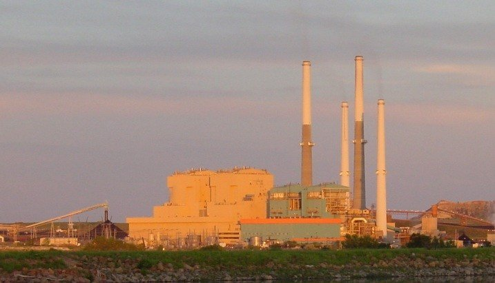 Colstrip plant (Photo from Puget Sound Energy website)