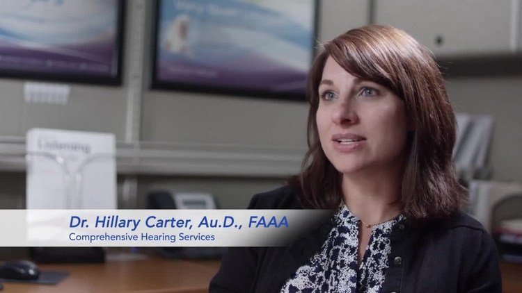 Dr. Hillary Carter of Comprehensive Hearing Services