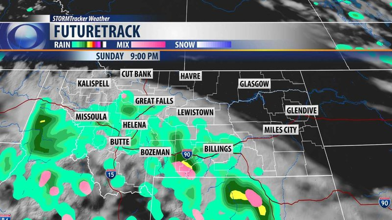 Showers Cooler Weather Returns Continuous