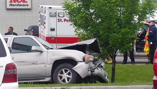 Emergency Crews Respond To Crash In Helena