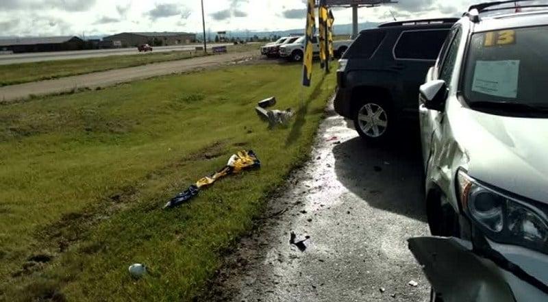 Hit And Run Crash At Helena Car Dealer Continuous News Missoula Western Montana