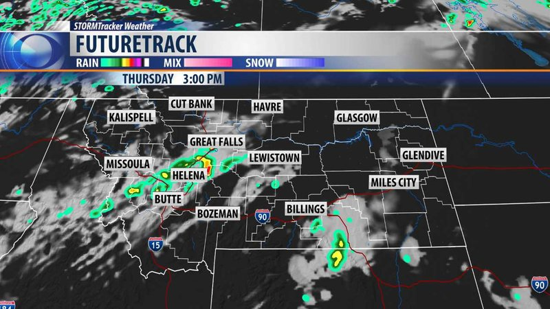 More Showers And Thunderstorms But Slightly Cooler Kpax