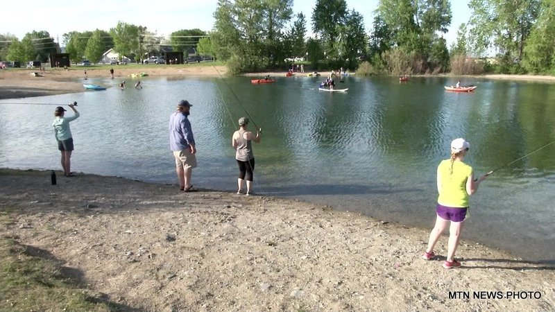 Montana wild hosted an introductory fly casting class for Fish wildlife and parks