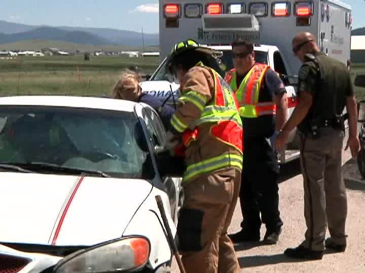 Two people injured in crash on canyon ferry road kxlh for Helena motors helena montana