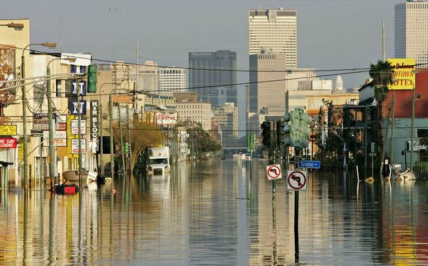 a discussion on how racial differences affected the residents of new orleans after hurricane katrina